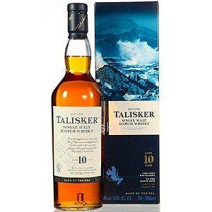 Whisky Talisker 10 Anos Isle of Skye - Single Malt - 750ml
