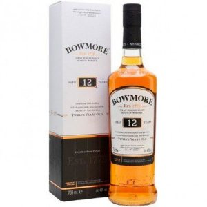Whisky Bowmore 12 Anos - Islay Single Malt - 700ml
