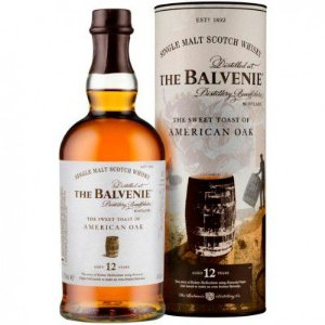Whisky The Balvenie 12 Anos The Sweet Toast of American Oak - Single Malt - 700ml