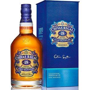 Whisky Chivas Regal - 18 anos - 750ml