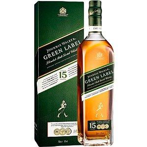 Whisky Johnnie Walker Green Label - 15 anos - 750ml