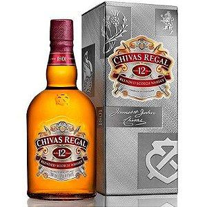 Whisky Chivas Regal 12 Anos - 750ml
