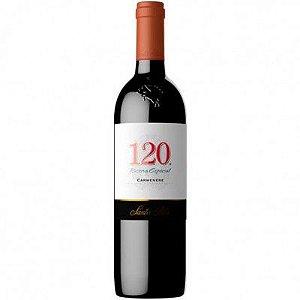 Vinho 120 Reserva Especial Carmenere - Santa Rita - 750ml