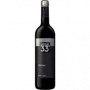 Vinho Latitud 33° Malbec - Tinto - 750ml