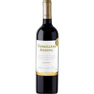 Vinho Cordillera Andina Carmenere - Tinto - 750ml