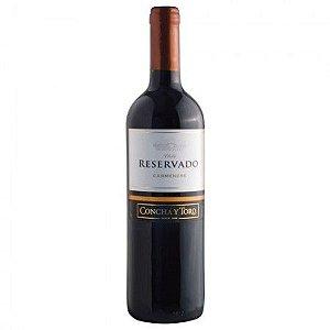 Vinho Concha Y Toro Reservado Carmenere - Tinto - 750ml