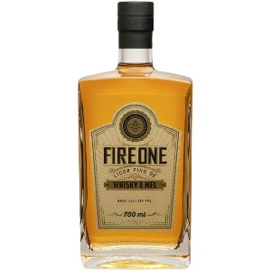 Licor Fire One - Whisky e Mel - 750ml