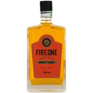 Licor Fire One - Whisky e Canela - 750ml