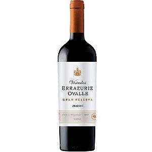 Vinho Errazuriz Ovalle Gran Reserva Malbec - Tinto Seco - 750ml