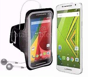 63206fed4bf Braçadeira Neopreme Para Motorola Moto G4, G4 Plus e G4 Play ...