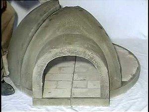 Forno Iglu de Pizza Premoldado 80 Cm -  Preço Retirando no Local