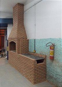 Churrasqueira 160x60 com Fogão comida Mineira Restaurantes  e Pensões