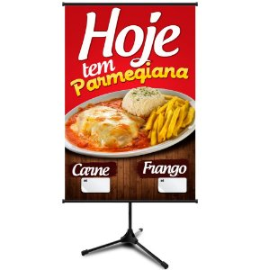 Banner para Restaurante - Parmegiana - 60x90cm