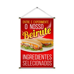 Banner para vender Beirute - 60x90cm