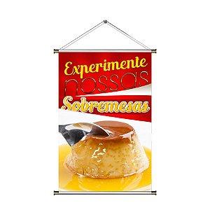 Banner para vender Sobremesa - 60x90cm