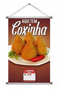 Banner para venda de Coxinha - 60x90cm