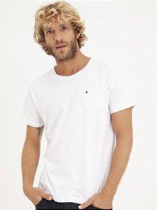 T-shirt Pocket Branco