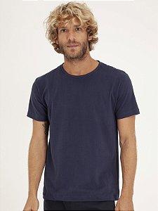 T-Shirt Minimal Marinho
