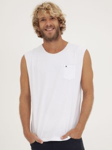 T-shirt Sleeveless Branco
