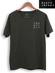 T-shirt Square Militar