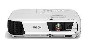 PROJETOR EPSON POWERLITE X41+3600 LUMENS - HDMI -USB-WIFI ADAPTADOR -NACIONAL