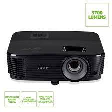 Projetor Acer X1323WH 3700 Lumens WXGA HD Nativo 1280x800 720P Conexao HDMI DLP