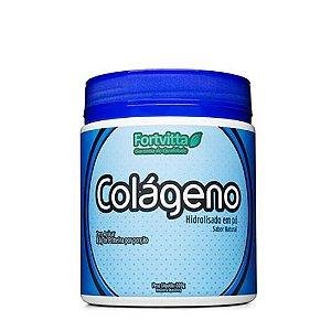 Colágeno Hidrolisado - Sabor Natural - 300 gramas Fortvitta