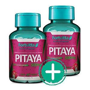 Combo - 02 Pitaya - Auxilia imunidade e emagrecimento - 60 cápsulas