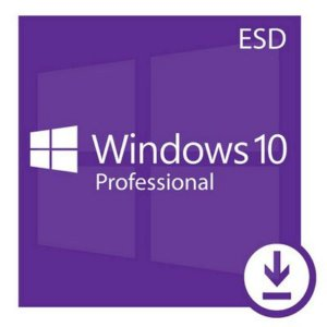 Licença Microsoft Windows 10 Pro 32/64 Bits Esd - Mídia Digital