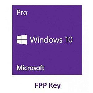 Licença De Uso Windows 10 Pro 32/64 Fpp