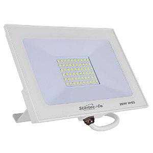 Refletor LED 20W 6500K Branco Startec 1600 Lúmens IP65