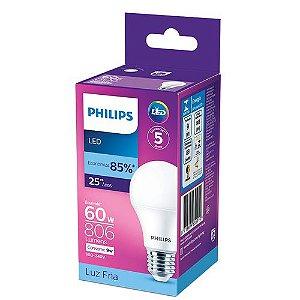 Lâmpada LED 9W Branco Frio 6.500K 806 Lúmens Philips