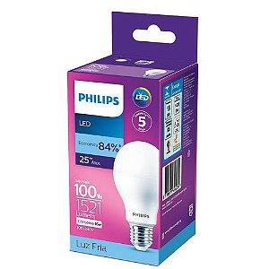 Lâmpada LED 16W Branco Frio 6.500K 1521 Lúmens Philips