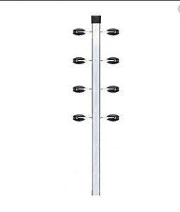 Cantoneira Big Haste com 4 fios para cerca elétrica