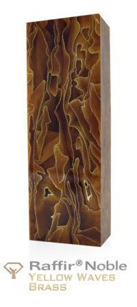 Raffir Noble Yellow Waves Brass