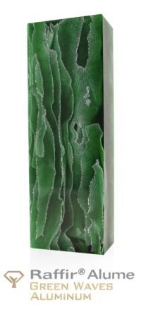 Raffir Alume Green Waves
