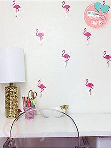 Adesivos de Parede Flamingo