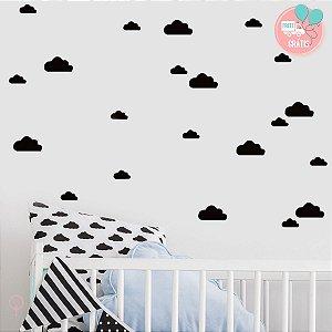 Adesivos de Parede Nuvens Sortidas