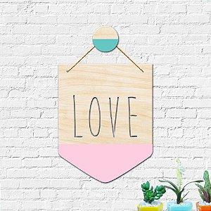 Flâmula Decoração Love