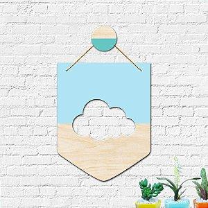 Flâmula Decoração Infantil Nuvem