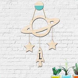 Mobile Planeta Estrelas Decoração Infantil