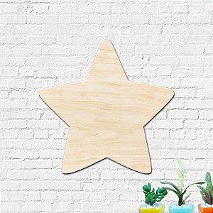 Estrela MDF Decoração Infantil