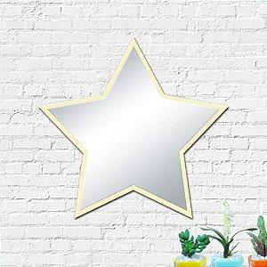 Espelho Decorativo Estrela Decoração