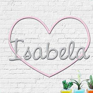 Nome Personalizado Decorativo Coração