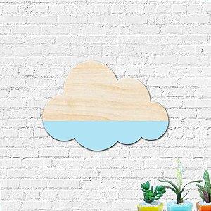 Gancho Pendurador Decoração Infantil Nuvem