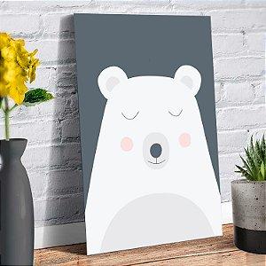 Placa Decorativa Decoração Infantil Urso