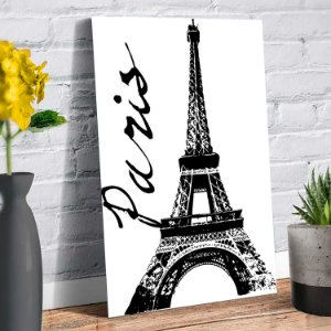 Placa Decorativa Decoração Casa Paris