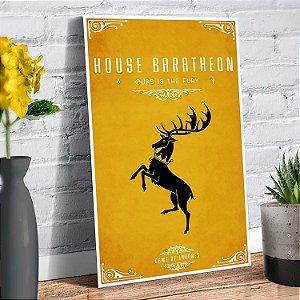 Placa Decorativa Decoração Casa Game Of Thrones