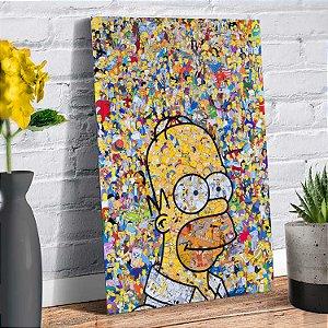 Placa Decorativa Decoração Casa Simpsons