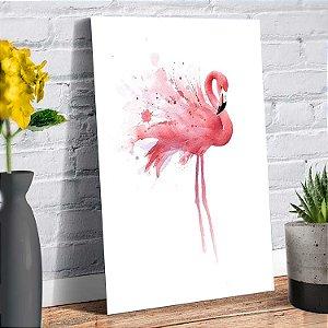 Placa Decorativa Decoração Casa Flamingo